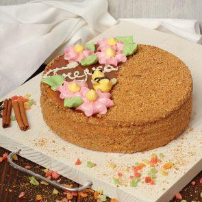 Торт «Пчелка с вареным сг. молоком» 0,8 кг; 0,5 кг.