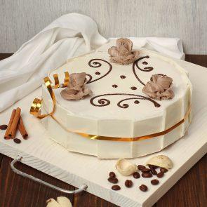 Торт «Сметанный» 0,75 кг.
