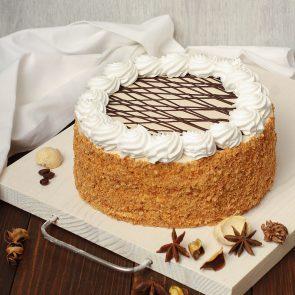 Торт «Пчелка с заварным кремом» 0,7 кг.
