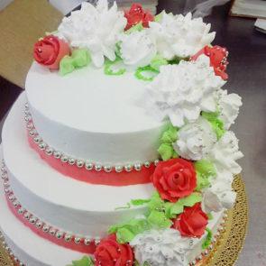Свадебный букет (16-СВ)